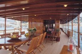 Over The Rainbow Dickie Yacht 35M Interior 2