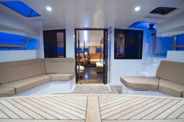 Moby Dick  Fountaine Pajot Galathea 65 Interior 1