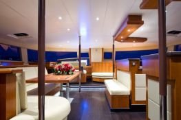 Moby Dick  Fountaine Pajot Galathea 65 Interior 2