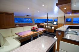 Moby Dick  Fountaine Pajot Galathea 65 Interior 3
