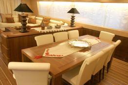 My Life  Maiora Yacht 27M Interior 3
