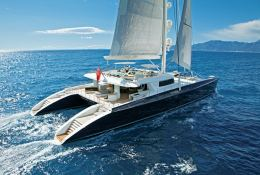 Hemisphere Pendennis Catamaran 145' Exterior 2