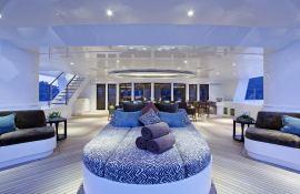 Hemisphere Pendennis Catamaran 145' Interior 1