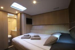 Alix  Nautor's Swan Yacht 90' Interior 6
