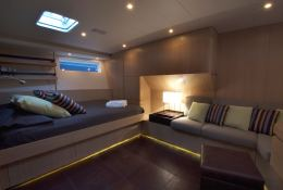 Alix  Nautor's Swan Yacht 90' Interior 5