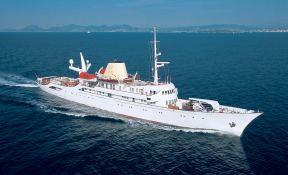 Christina O   Yacht 99M Exterior 2