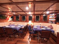 Myra (Turkish Gulet 29M) Interior 3