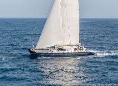 Azizam (ex Rose of Jericho) JFA Catamaran 26M Exterior 1