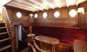 Atlantic  Townsend and Downey Yacht 185' Interior 1