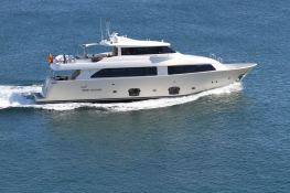 Malvasia  Ferretti Yacht 85 Exterior 1