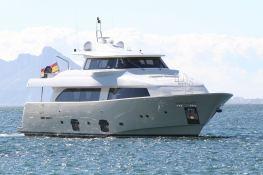 Malvasia  Ferretti Yacht 85 Exterior 2