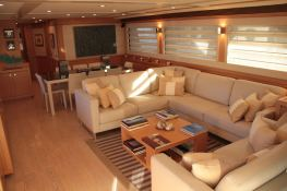 Malvasia  Ferretti Yacht 85 Interior 0