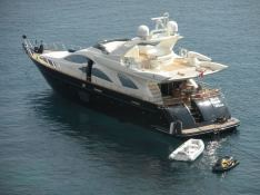 Rat Bat Blue  Azimut Yachts Fly 80 Exterior 1
