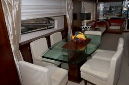 Rat Bat Blue  Azimut Yachts Fly 80 Interior 1