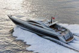High Roller  Baglietto Yacht 105' Exterior 2