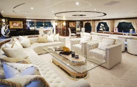 Diamonds are Forever Benetti Yacht 60M Interior 2