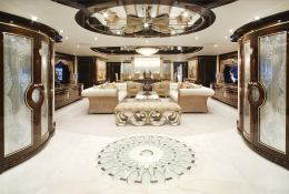 Diamonds are Forever Benetti Yacht 60M Interior 1