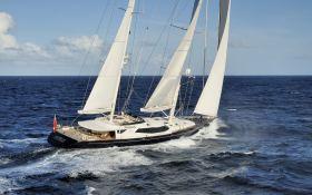 Drumbeat (ex Salperton) Alloy Yachts Sloop 53M Exterior 1