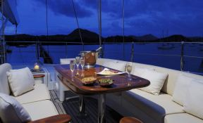 Drumbeat (ex Salperton) Alloy Yachts Sloop 53M Interior 0