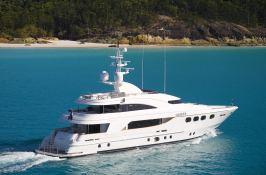 De Lisle III  Majesty Yacht 42M Exterior 2
