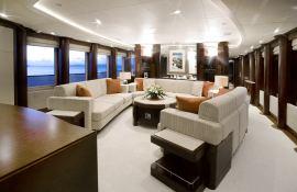 De Lisle III Majesty Yacht 42M Interior 1