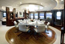 De Lisle III Majesty Yacht 42M Interior 2