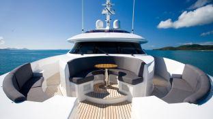 De Lisle III  Majesty Yacht 42M Interior 17