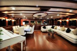 Regina (Turkish Gulet 56M) Interior 1