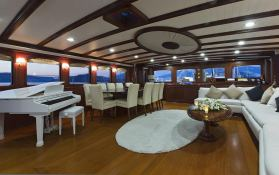 Regina (Turkish Gulet 56M) Interior 4
