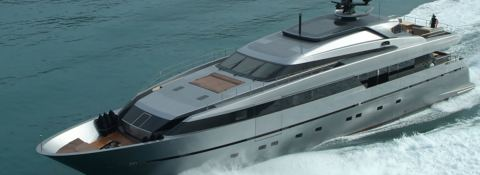 4H San Lorenzo Yacht 125' Exterior 3