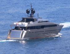 4H San Lorenzo Yacht 125' Exterior 2