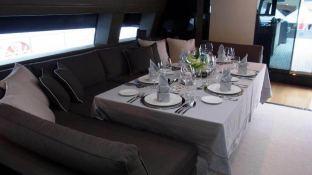 4A (ex 4H) San Lorenzo Yacht 125' Interior 8