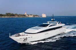 Apache II Baglietto Yacht 44M Exterior 1