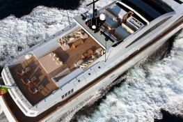 Apache II  Baglietto Yacht 44M Exterior 3