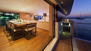 Apache II  Baglietto Yacht 44M Interior 2
