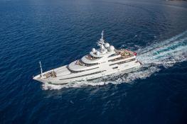 Naia (ex Pegaso) Freire Yacht 73M Exterior 2