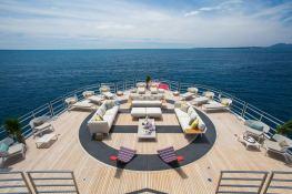 Naia (ex Pegaso) Freire Yacht 73M Interior 5