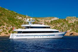 Alcor Heesen Yacht 35M Exterior 1