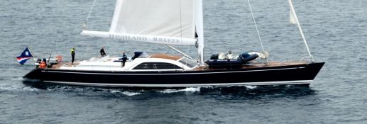 Highland Breeze Nautor's Swan Yacht 112' Exterior 2
