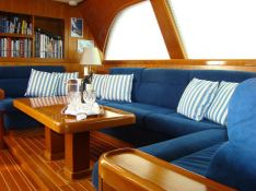 Highland Breeze  Nautor's Swan Yacht 112' Interior 2