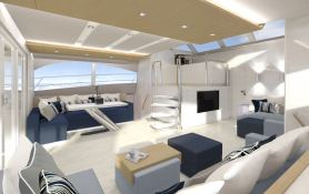 Forever Sunreef Catamaran Power 60' Interior 4