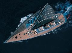 Dark Shadow Wally Yacht 100' Exterior 3