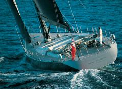Dark Shadow Wally Yacht 100' Exterior 2