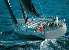 Dark Shadow  Wally Yacht 100' Exterior 2