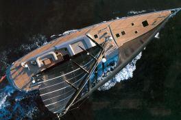 Dark Shadow  Wally Yacht 100' Exterior 1