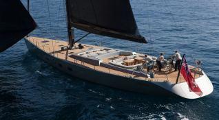 Dark Shadow  Wally Yacht 100' Exterior 3