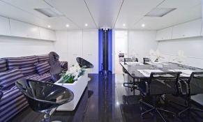 Dark Shadow  Wally Yacht 100' Interior 8