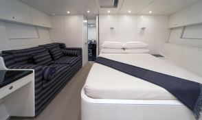 Dark Shadow  Wally Yacht 100' Interior 7