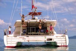 Blaze II Sunreef Catamaran Sail 62' Exterior 3