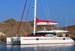Blaze II Sunreef Catamaran Sail 62' Exterior 2